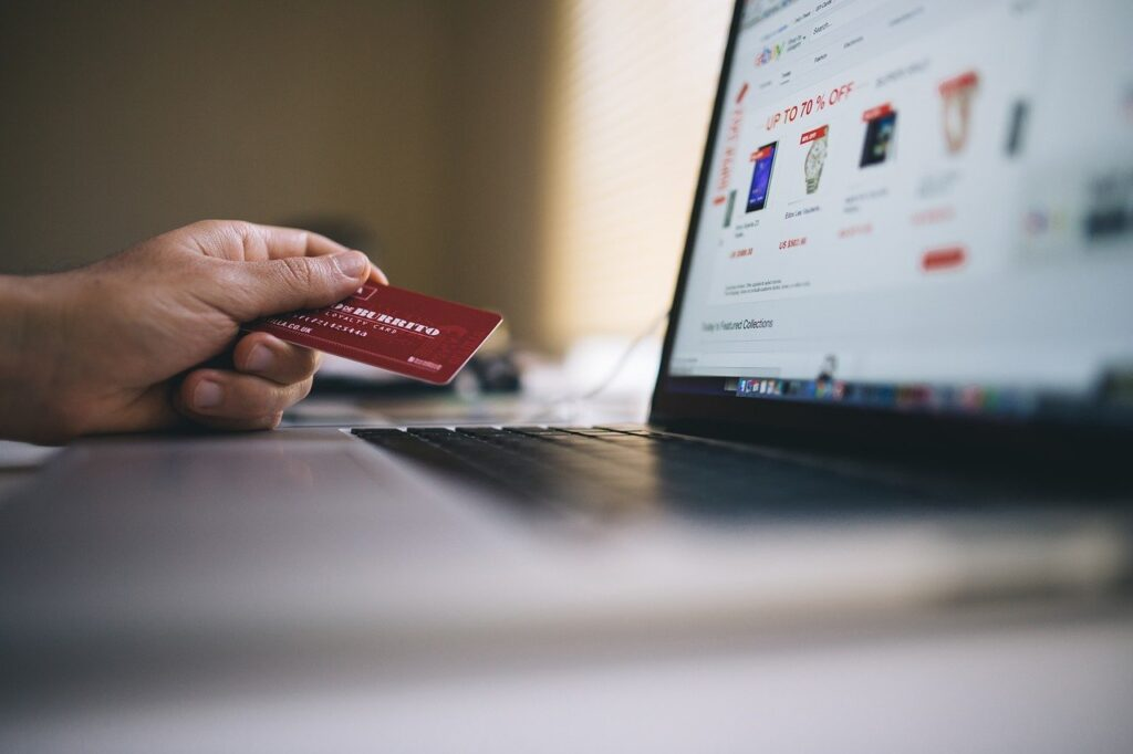 ecommerce, shopping, credit card